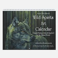 Wild Spirits Wall Calendar