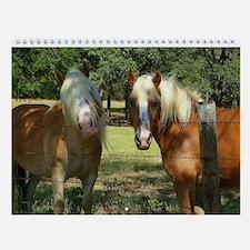 Haflinger horses - Wall Calendar - 2014