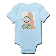 Snowboard Baby Infant Creeper