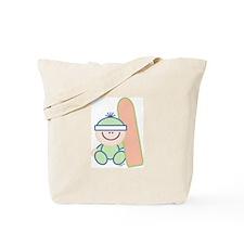 Snowboard Baby Tote Bag