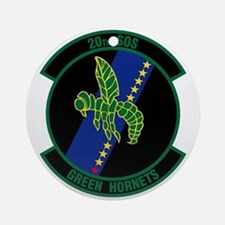 20th Patch Ornament (Round)