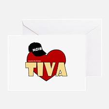 NCIS Tiva Greeting Card