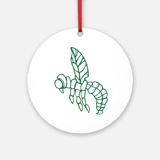 Green Hornet Ornament (Round)