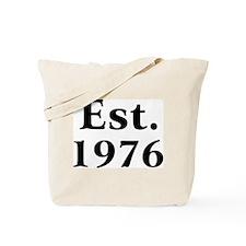 Est. 1976 Tote Bag