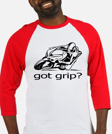 Sportbike Got Grip Baseball Jersey