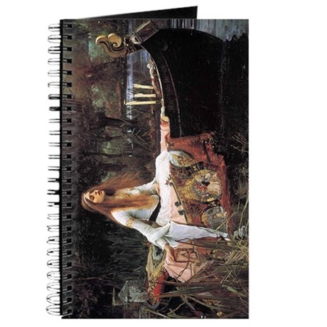 The Lady of Shalott by Waterhouse Journal