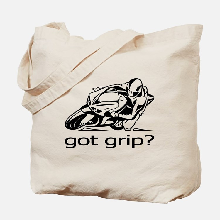 Sportbike Got Grip Tote Bag