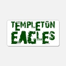 TEMPLETONEAGLES8.png Aluminum License Plate