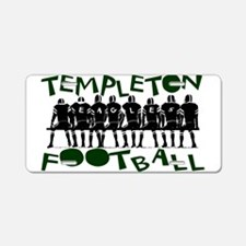 TEFOOTBALL_6.png Aluminum License Plate