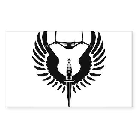 AFSOC Osprey Sticker (Rectangle)