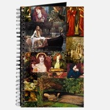 Pre-Raphaelite Collage Journal
