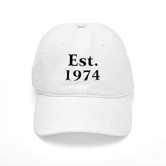 Est. 1974 Baseball Cap