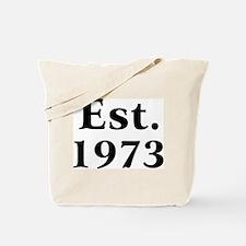 Est. 1973 Tote Bag