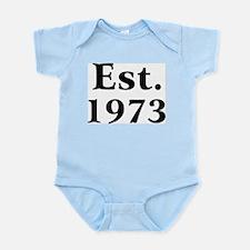 Est. 1973 Infant Creeper