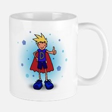 Blonde D-Boy with Pump Mug