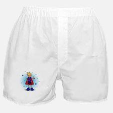 Blonde D-Boy with Pump Boxer Shorts
