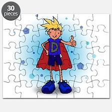 Blonde D-Boy with Pump Puzzle