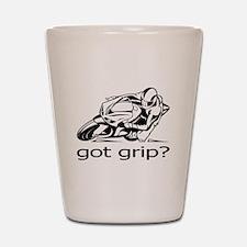 Sportbike Got Grip Shot Glass