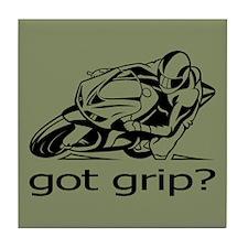 Sportbike Got Grip Tile Coaster