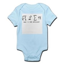"""i 8 sum pi"" (And it was delicious!) Infant Bodysu"