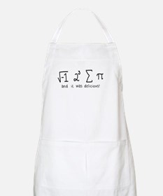 """i 8 sum pi"" (And it was delicious!) Apron"