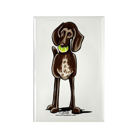 Pointer Playtime Rectangle Magnet
