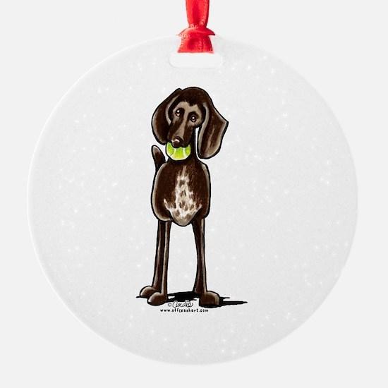 Pointer Playtime Ornament