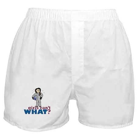 Astronaut Girl Boxer Shorts