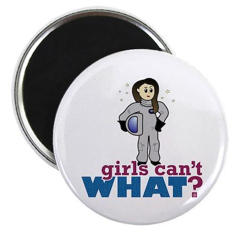 Astronaut Girl Magnet