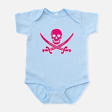 Pink Calico Jack Infant Bodysuit