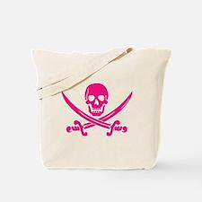 Pink Calico Jack Tote Bag