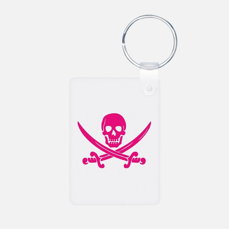 Pink Calico Jack Keychains