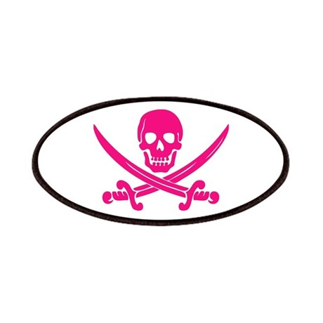 Pink Calico Jack Patches