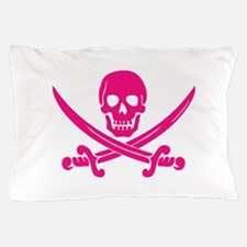 Pink Calico Jack Pillow Case