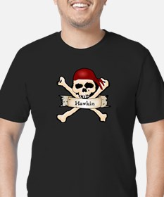 Personalized Pirate Skull T