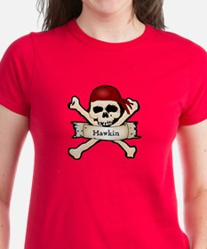 Personalized Pirate Skull Tee