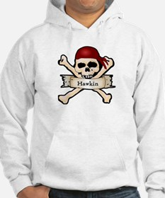 Personalized Pirate Skull Hoodie