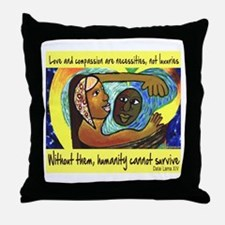 Love and Compassion Throw Pillow