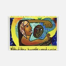 Love and Compassion Rectangle Magnet