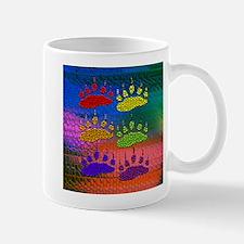 RAINBOW BEAR PAWS ON RAINBOW Mug