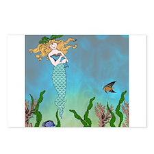 Vintage Mermaid Postcards (Package of 8)
