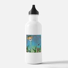 Vintage Mermaid Water Bottle