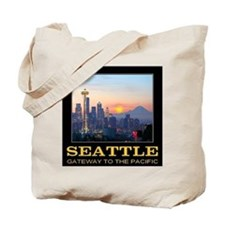 Seattle Gateway to the Pacific Tote Bag