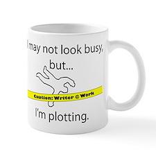 Beware: Plotting Writer Small Mugs