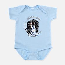 Tricolor CKCS IAAM Infant Bodysuit