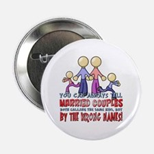 """Married Couples 2.25"""" Button"""