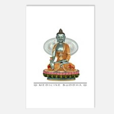 Medicine Buddha Postcards (Package of 8)