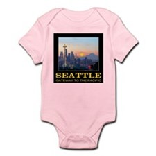 Seattle Gateway to the Pacific Infant Bodysuit