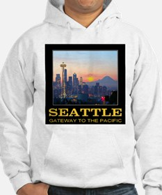 Seattle Gateway to the Pacific Hoodie
