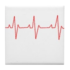 Heartbeat Tile Coaster